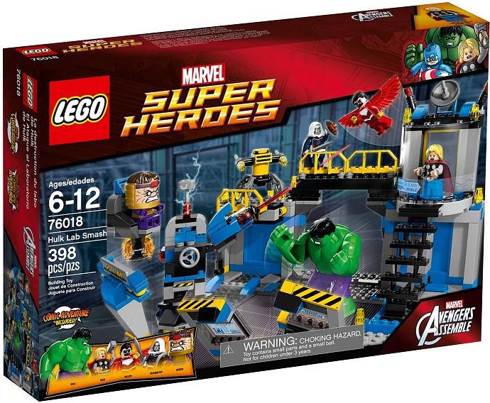 LEGO Super Heroes Avengers 76018 - Hulk rozbití laboratoře