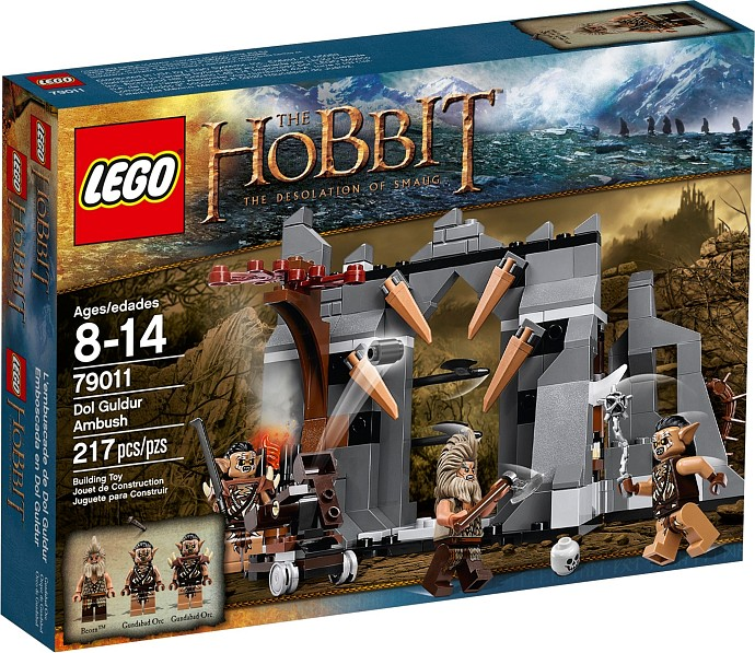 LEGO 79011 HOBBIT Přepadení Dol Gulduru