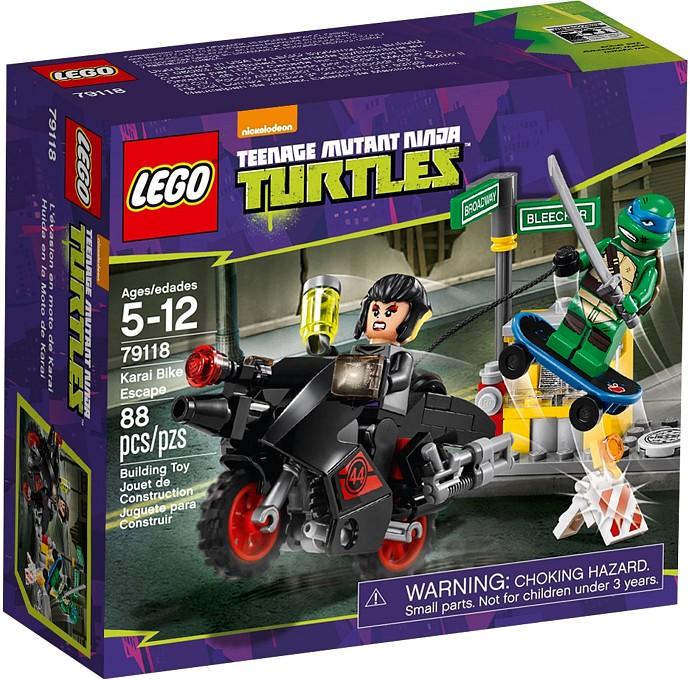LEGO Želvy Ninja 79118 Únik kola Karai