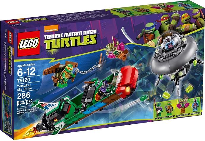 LEGO Želvy Ninja 79120 T-Rawketův úder do