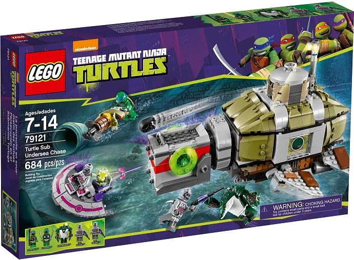 LEGO Želvy Ninja 79121 Želví podmořská honička