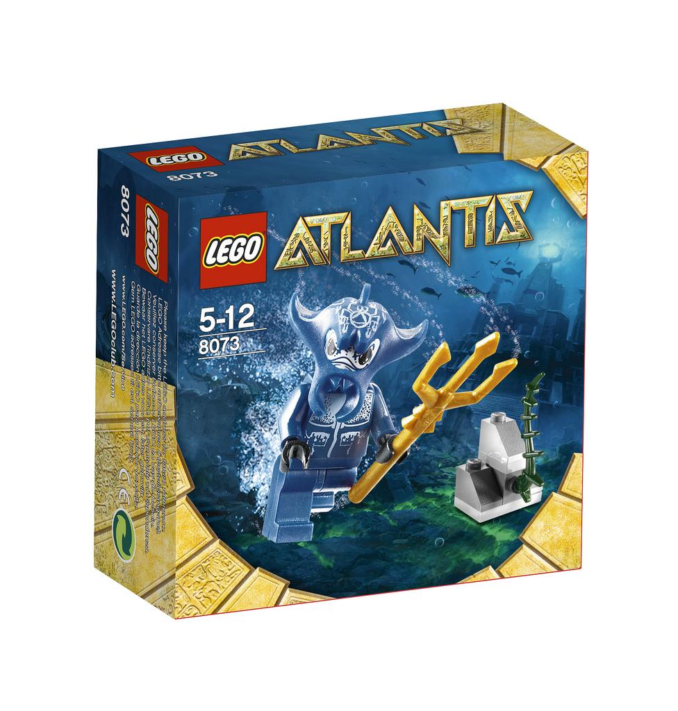 Lego Atlantis 8073 - Bojovník Manta