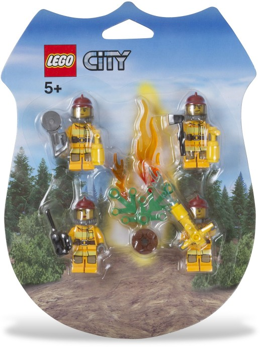 LEGO City 853378 kolekce minifigurek hasiči
