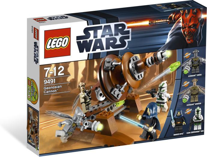 Lego 9491 Star Wars Geonosianské dělo