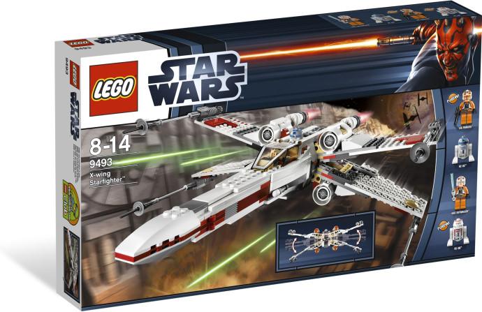 Lego 9493 Star Wars Hvězdná stíhačka X-wing