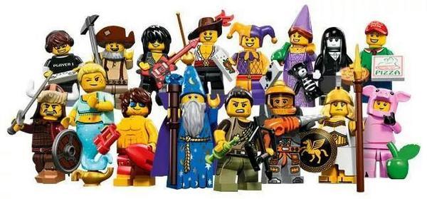 LEGO 71007 Minifigurky - 12. série