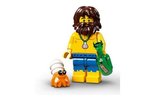 Lego 71029 Minifigurky 21. série - 03 - Trosečník