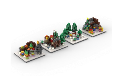 LEGO Limited Edition 4000013 Christmas Tale