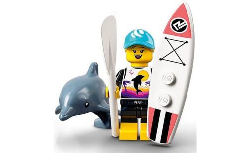 LEGO 71029 Minifigurky 21. série - 01 - Surfař