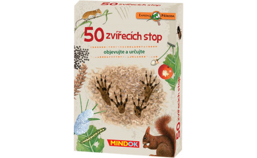 Mindok Expedice příroda: 50 zvířecích stop