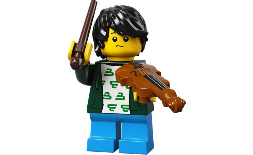 Lego 71029 Minifigurky 21. série - 02 - Malý houslista