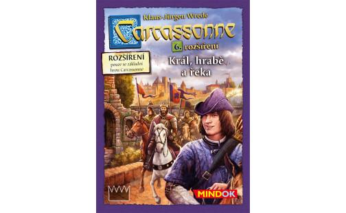 Mindok Carcassonne rozšíření 6 Král,hrabě a řeka