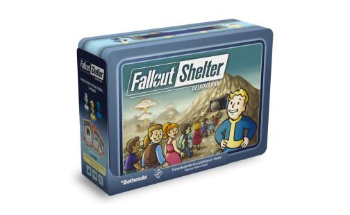 ADC Blackfire Fallout Shelter: desková hra