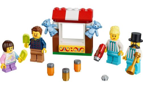 LEGO 40373 Sada doplňků s minifigurkami - pouť