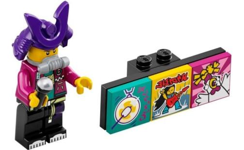 LEGO Minifigurky 43101 VIDIYO - Samurapper (2.)