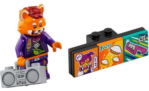 LEGO Minifigurky 43101 VIDIYO - Červená panda (7.)