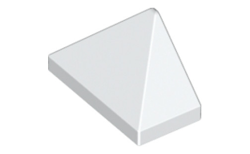 END RIDGED TILE 1X2/45°