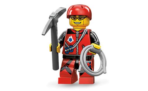 LEGO 71002 Minifigurka 11. série - Horolezec