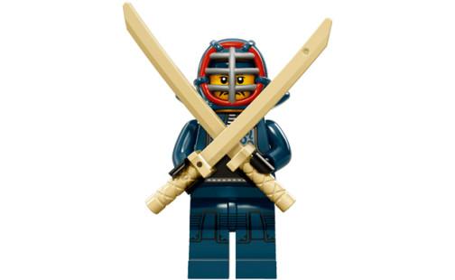 LEGO 71011 Minifigurky - 15. série - 12 - Bojovník Kendo