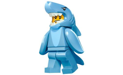 LEGO 71011 Minifigurky - 15. série - 13 - Chlapík ve žraločím kostýmu