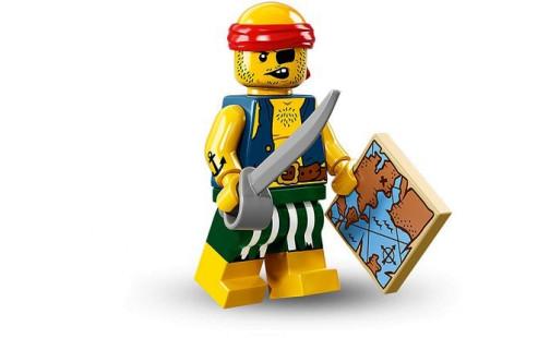 LEGO 71013 Minifigurky - 16. série - 9 - Pirát