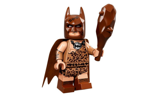 Lego 71017 Minifigurky Batman 04 Clan of the Cave Batman - Pračlověk