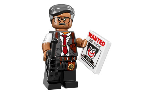 Lego 71017 Minifigurky Batman 07 - Gordon - Komisař Gordon