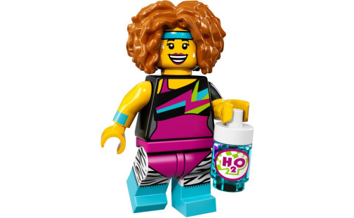 LEGO 71018 Minifigurky 17. série - 14 - Cvičitelka tance