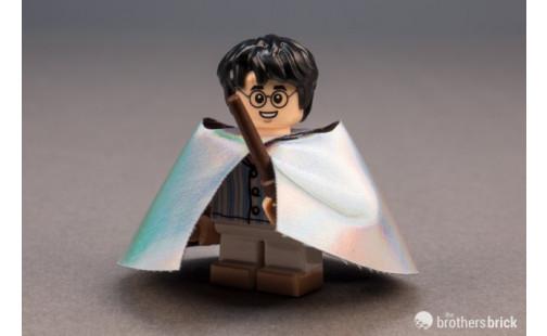 Harry Potter v pyžamu a v neviditelném plášti