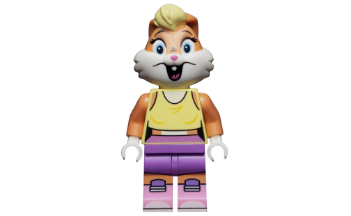 LEGO Minifigurky 71030 Looney Tunes - 01 Lola Bunny