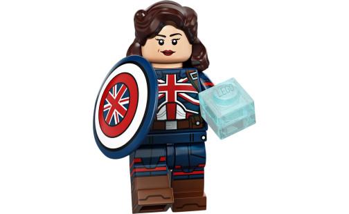 LEGO Minifigures 71031 Studio Marvel - 10 Kapitánka Carterová