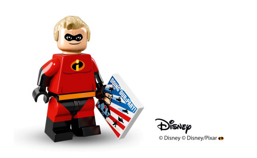 LEGO Creator 71012 minifigurky Disney série 13. Mr. Incredible