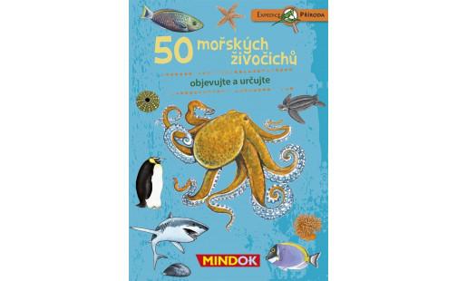 Mindok Expedice přiroda: 50 mořských živočichů