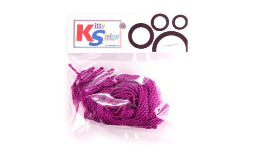 YoYo Kitty String provázky - 10 ks - Fialové