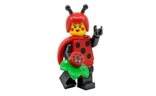 Lego 71029 Minifigurky 21. série - 04 - Dívka v kostýmu berušky