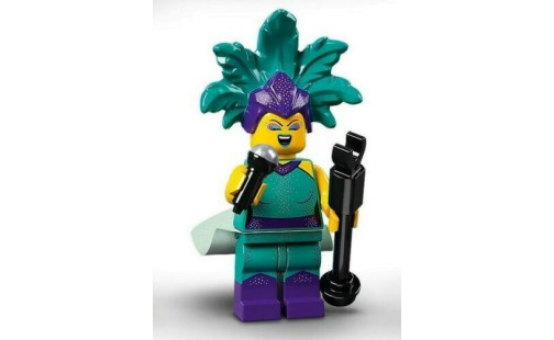 Lego 71029 Minifigurky 21. série - 12 - Kabaretní zpěvačka