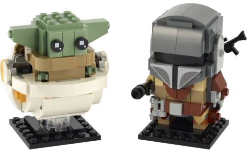 LEGO BrickHeadz 75317 Mandalorian a dítě
