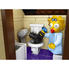 LEGO 71006 The Simpsons™ House koupelna
