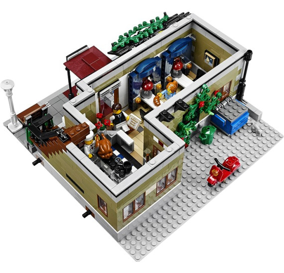 LEGO 10243 Parisian Restaurant půdoris