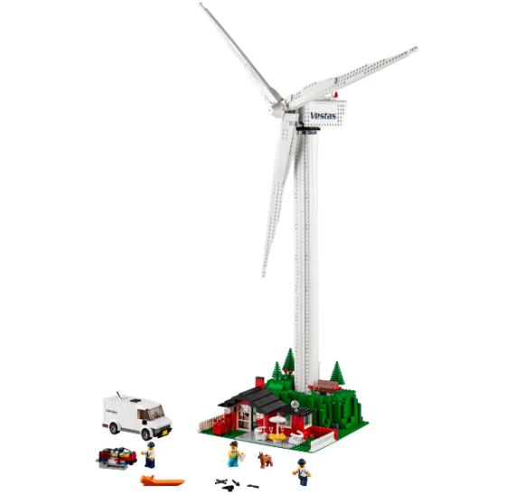 LEGO Creator 10268 Větrná turbína Vestas -detail 1