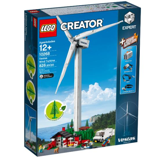LEGO Creator 10268 Větrná turbína Vestas - balení