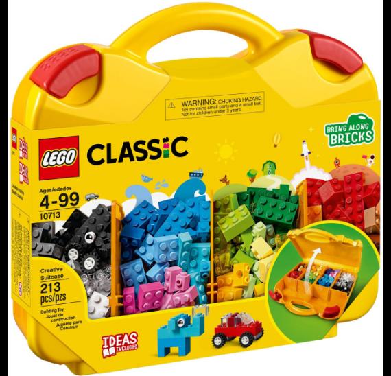 Lego CLASSIC 10713 Kreativní kufřík - balení