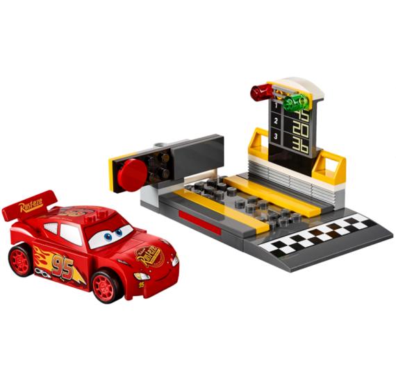 Lego JUNIORS 10730 Vystřelovač Bleska McQueena -detail
