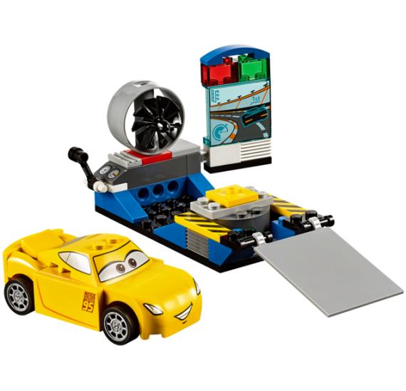 Lego Juniors 10731 Závodní simulátor Cruz Ramirezové - detail