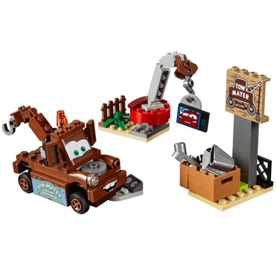 Lego JUNIORS 10733 Burákovo smetiště - detail