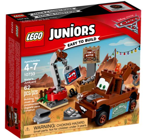Lego JUNIORS 10733 Burákovo smetiště - balení