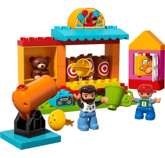 Lego DUPLO 10839 Střelnice - detail