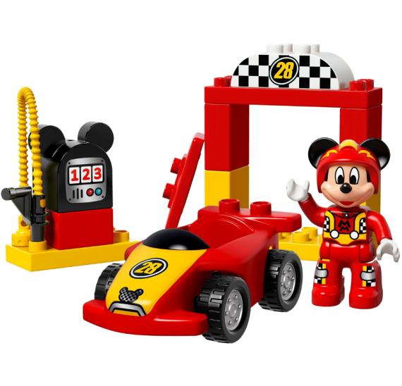 Lego Duplo 10843 Mickeyho závodní auto  - detail