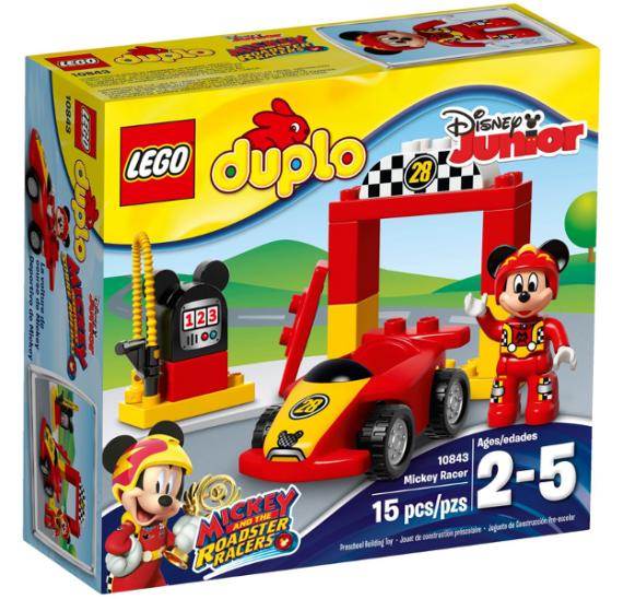 Lego Duplo 10843 Mickeyho závodní auto  - balení