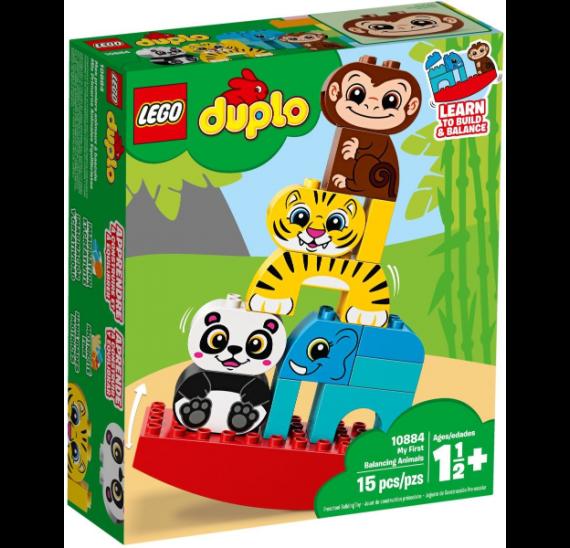 LEGO DUPLO 10884 Moje první houpací zvířátka - balení